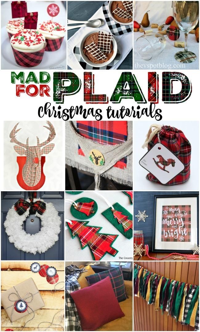 12 Plaid Christmas Tutorials