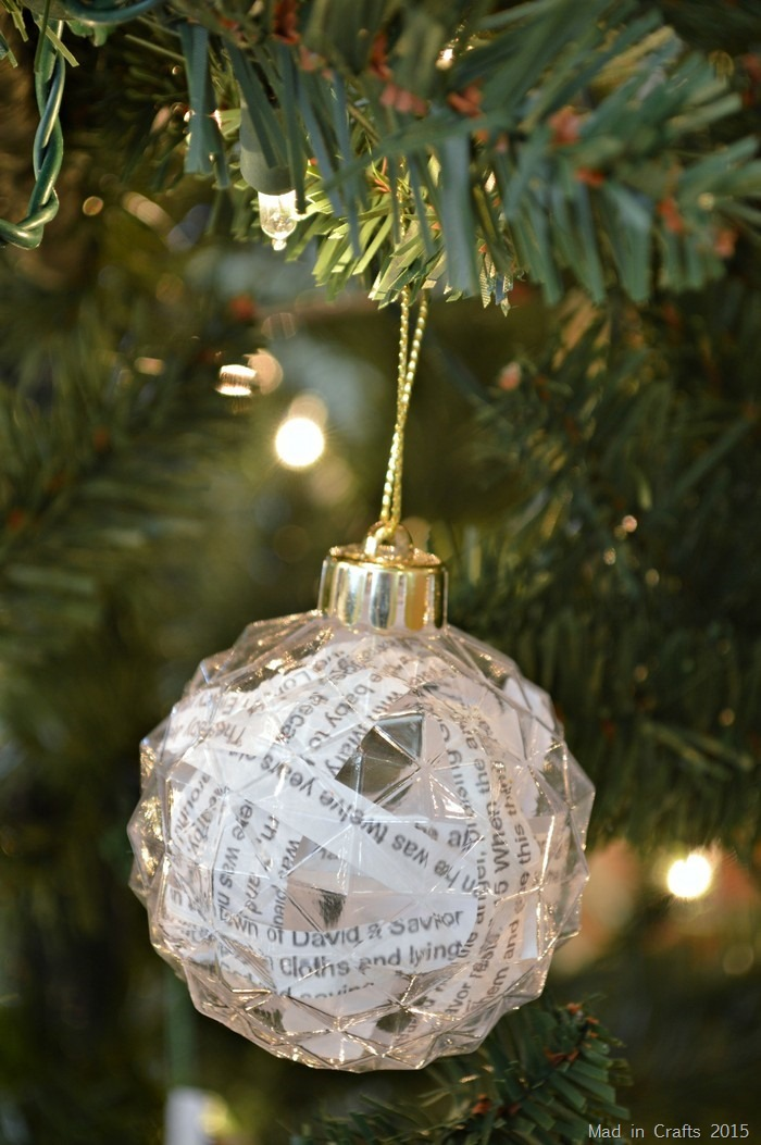 Bible Passage Ornaments
