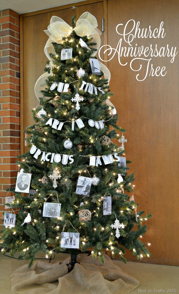Church Anniversary Tree