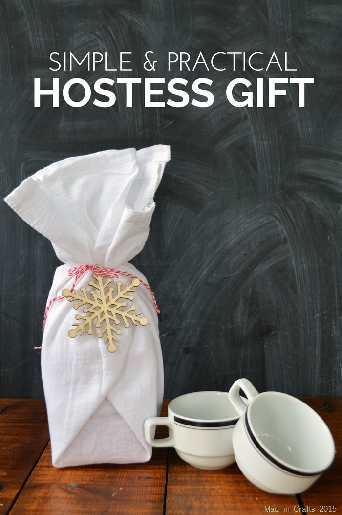 Simple Coffee Hostess Gift