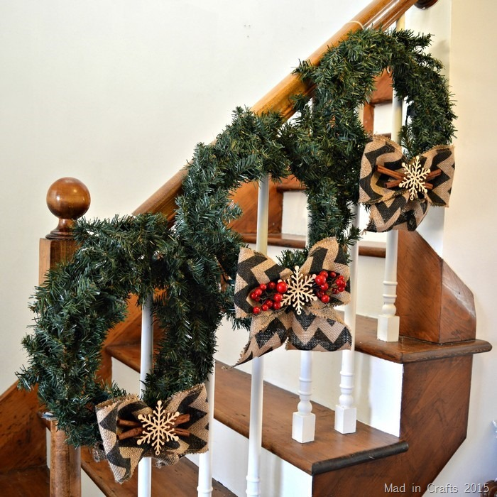 Three Rustic Wreaths