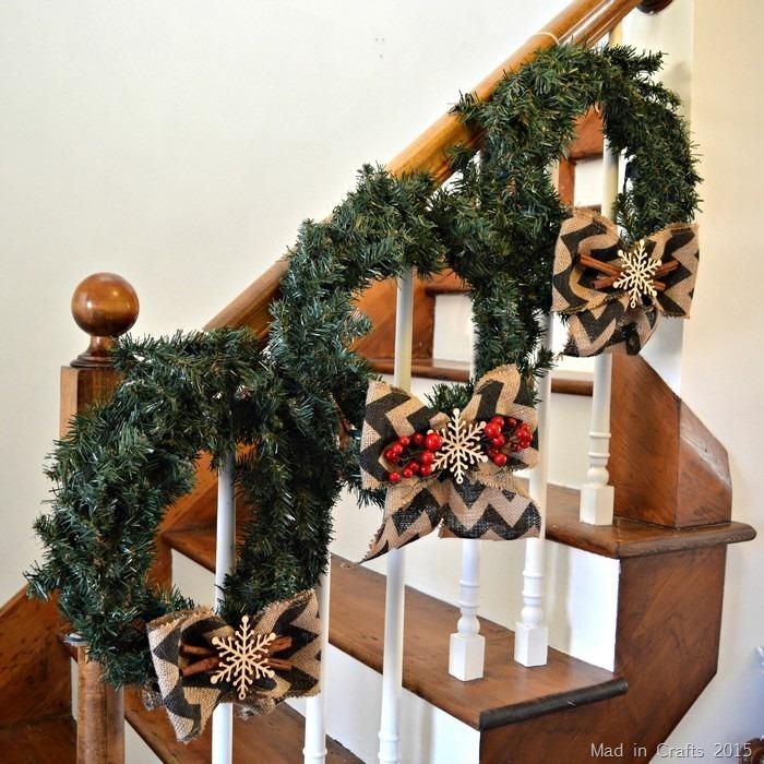 Three Rustic Wreaths