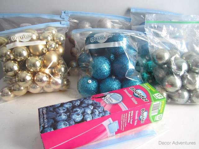 holidayornaments organize ornaments - Organizing Christmas Decorations