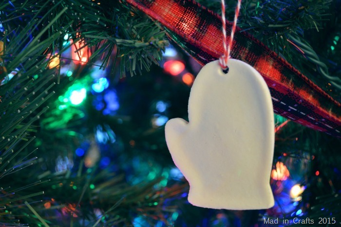 Homemade Cornstarch Dough Ornament