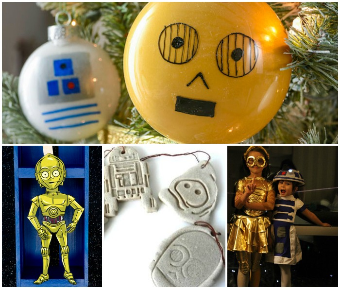 Star Wars Droid Crafts