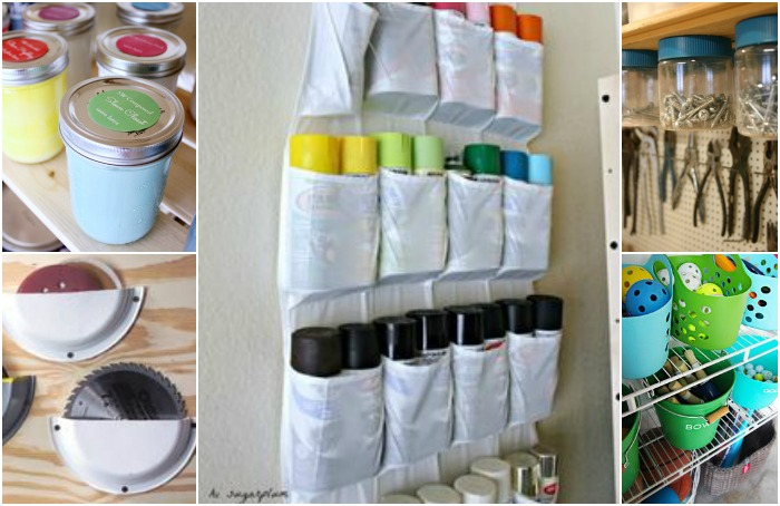 ORGANIZE YOUR GARAGE WITH ONE TRIP TO THE DOLLAR STORE
