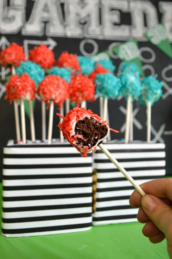 Brownie Bite on a Stick