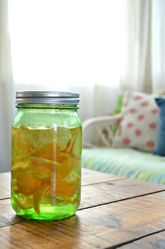 DIY Orange Vinegar