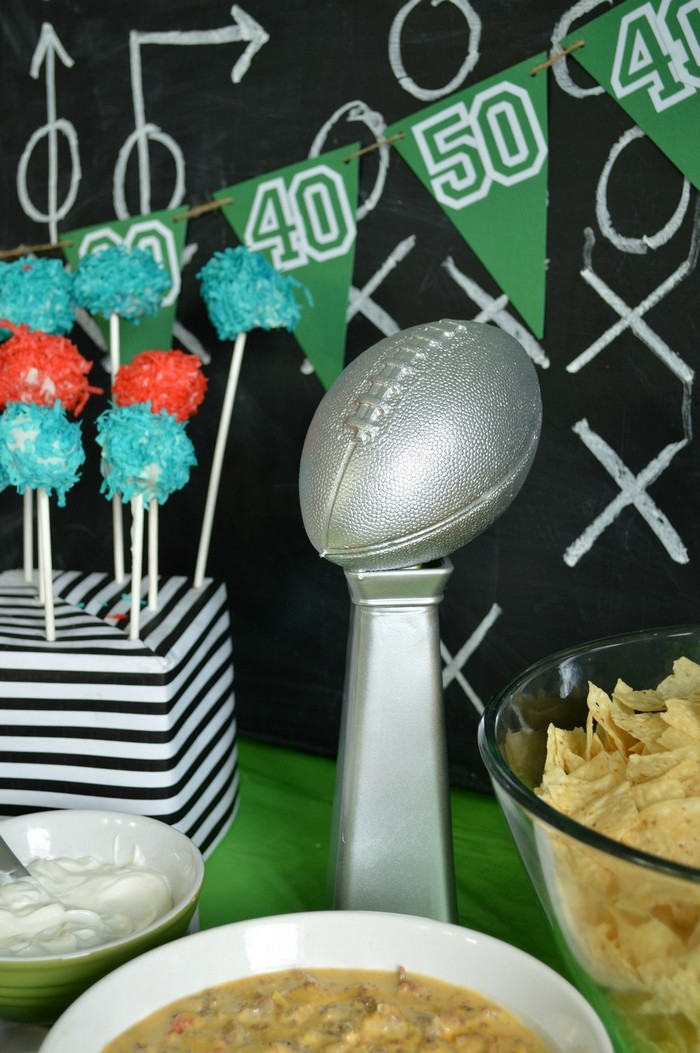 Lombardi Trophy Decoration