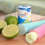 FRESH LIME FRO-YO POPSICLES