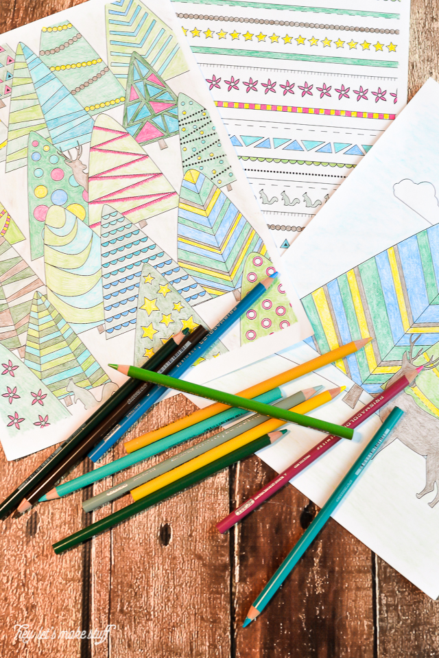 Put Those Coloring Pages To Use Mad In Crafts