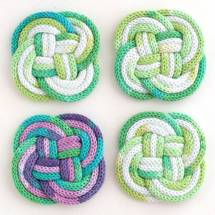KNOTTED COASTERS