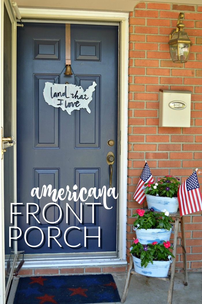 Americana Front Porch