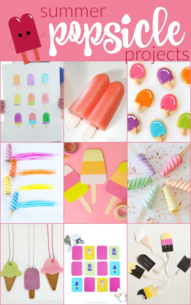 9 Summer Popsicle Projects