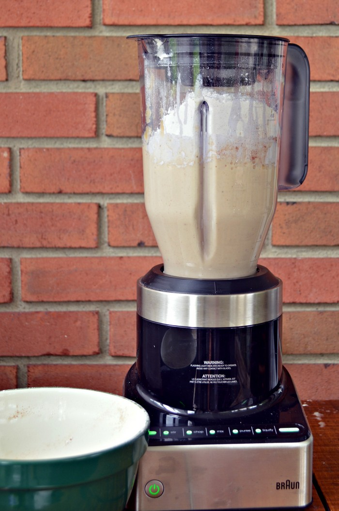 Blended Banana Bread Batter