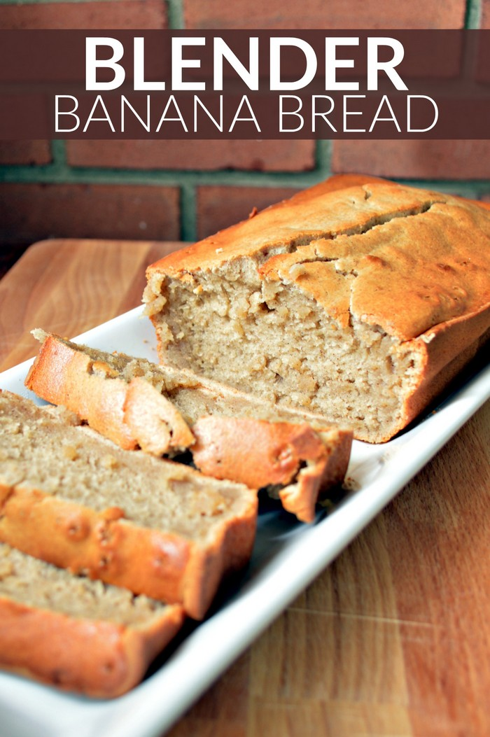 Blender Banana Bread Recipe