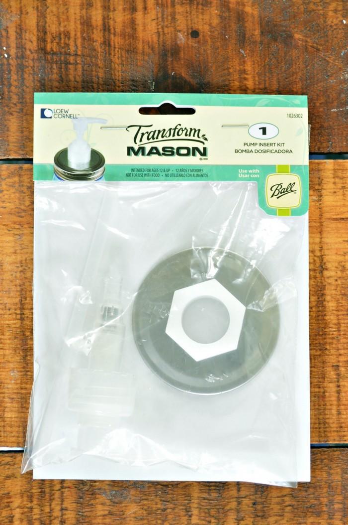 Mason Jar Pump Insert Kit