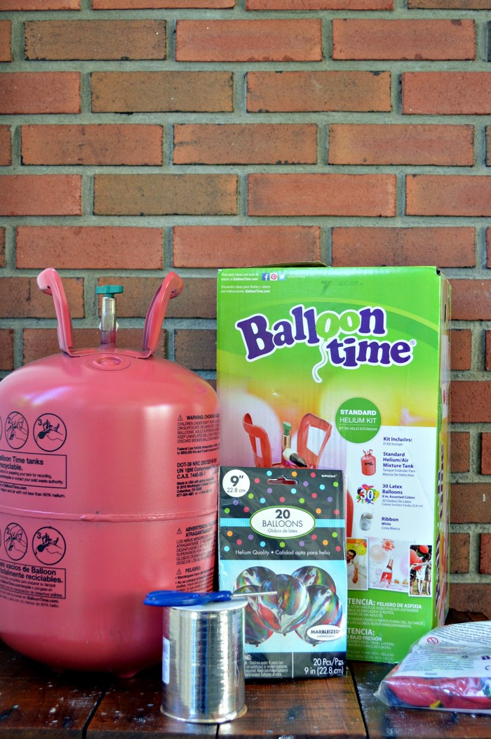 Ballooon Time supplies