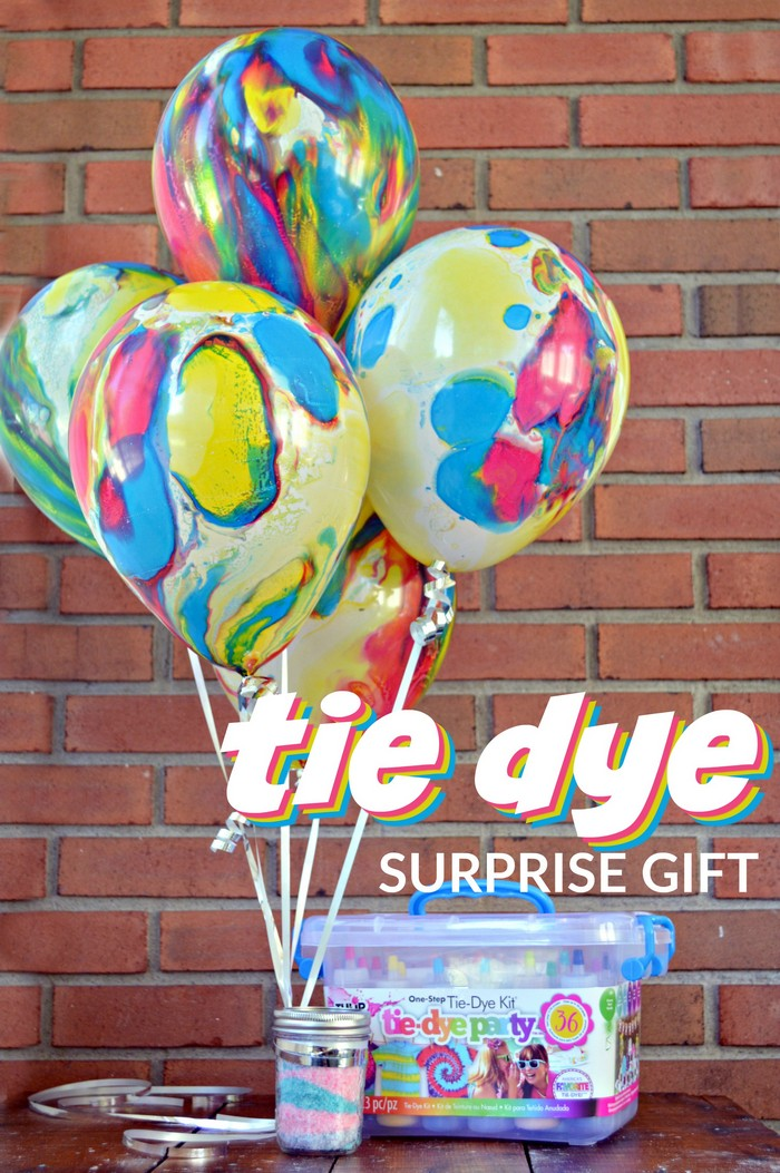 Tie Dye Surprise Gift