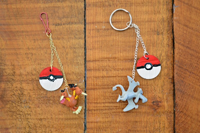 DIY Pokemon Key Chains