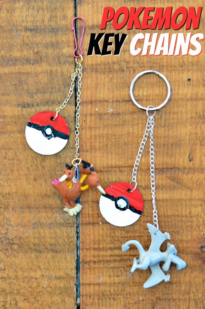 How to Make Pokemon Key Chains