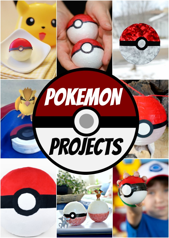 Pokemon Projects and Crafts