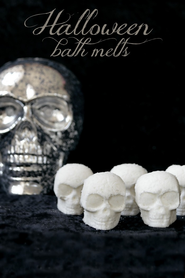 DIY Halloween Bath Melts