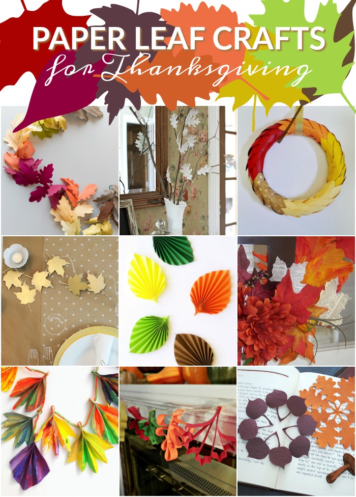 Paper thanksgiving decorations - photo#31