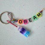 KIDS CRAFT: DREAM IN A BOTTLE KEY CHAIN