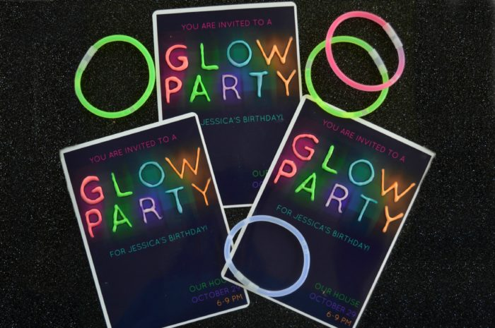 GLOW PARTY INVITATIONS – Glow Party Invite