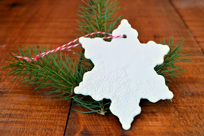 lace-embossed-clay-ornaments