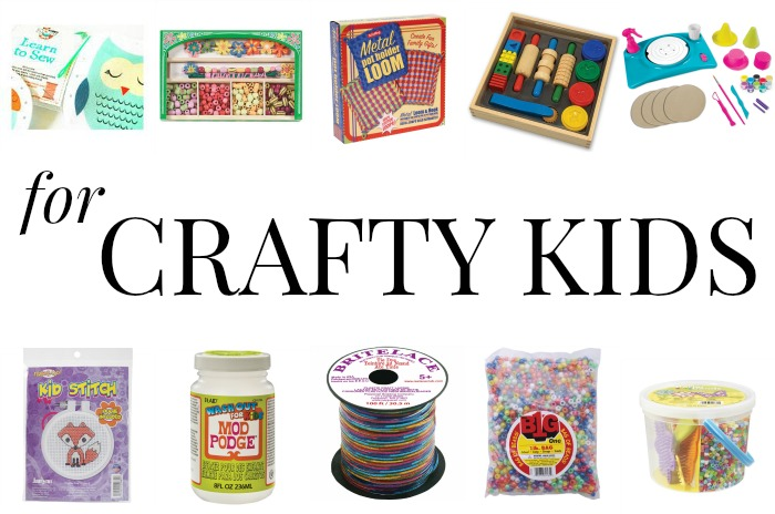 GIFT GUIDE: CRAFTY GIFTS FOR CRAFTY KIDS