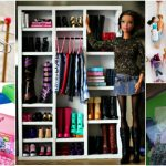 ORGANIZE YOUR BARBIES WITH ONE TRIP TO THE DOLLAR STORE
