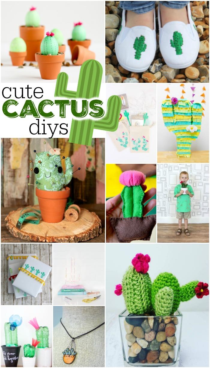 12 Cute Cactus DIYs