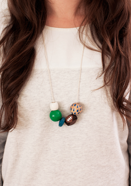 football-necklace
