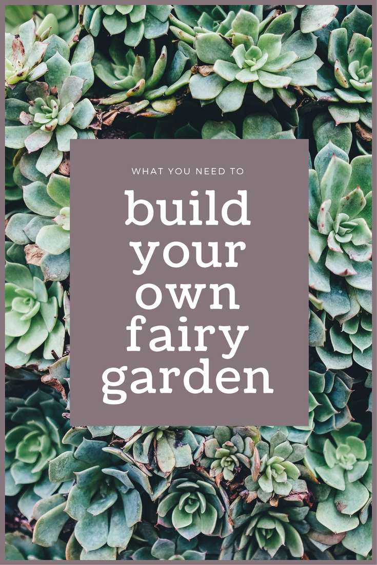 build your own fairy garden mad in crafts - How To Build A Fairy Garden