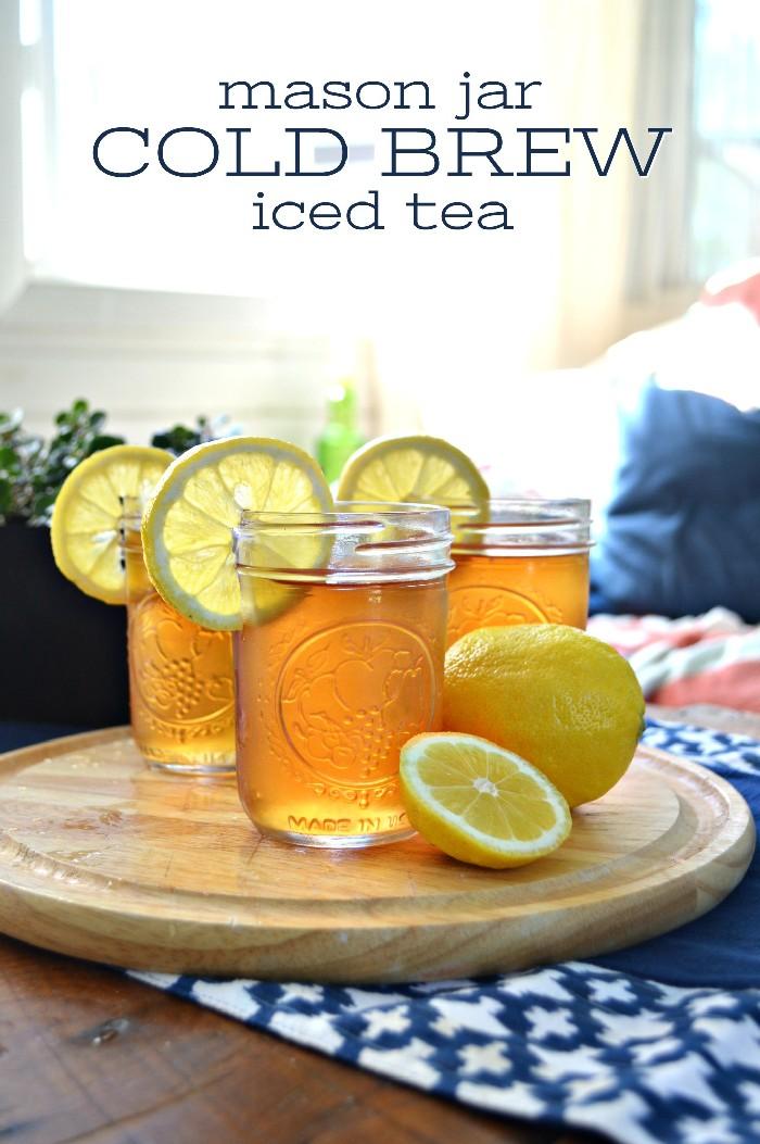 NO MESS COLD BREW ICED TEA