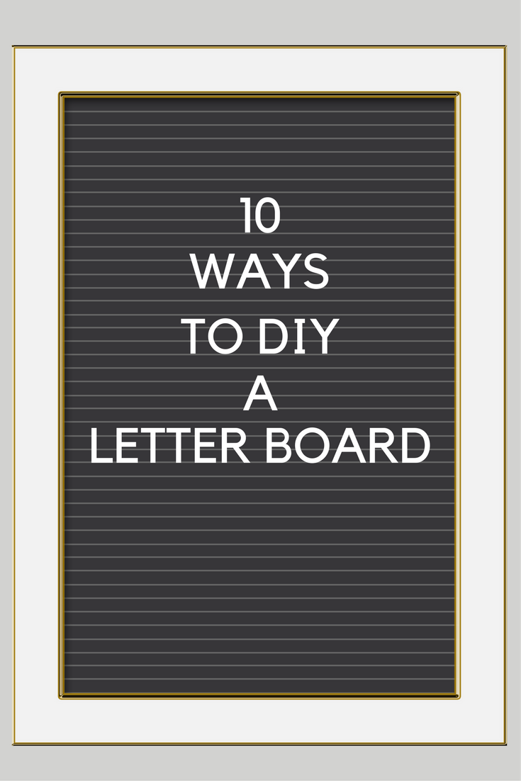 HOW TO USE A LETTER BOARD (& FUN SAYINGS FOR FALL)