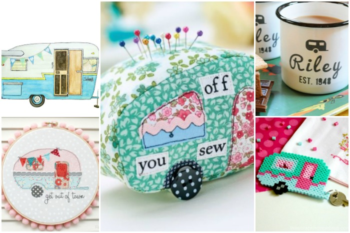 16 VINTAGE CAMPER CRAFTS