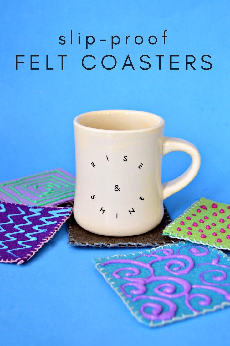 15 MINUTE NO-SLIP COASTERS