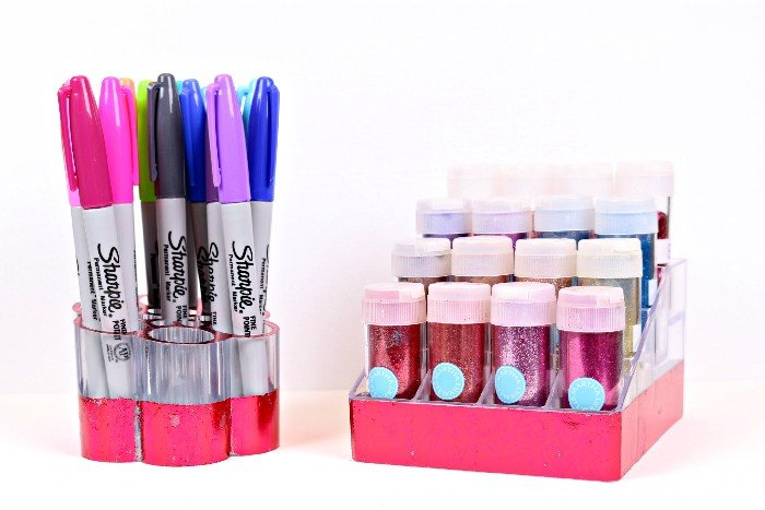 FOILED DOLLAR STORE ORGANIZERS