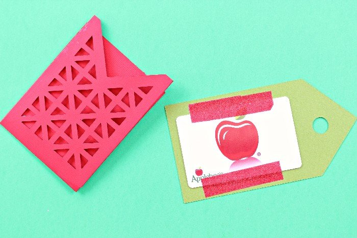 TEACHER APPRECIATION GIFT CARD HOLDER
