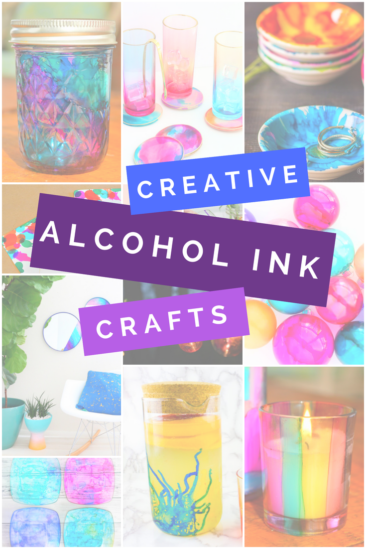 CREATIVE WAYS TO USE ALCOHOL INKS