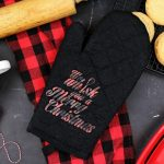"""WE WHISK YOU A MERRY CHRISTMAS"" OVEN MITT"