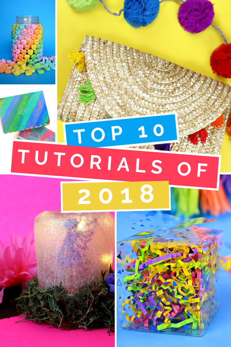 MAD IN CRAFTS TOP 10 POSTS OF 2018