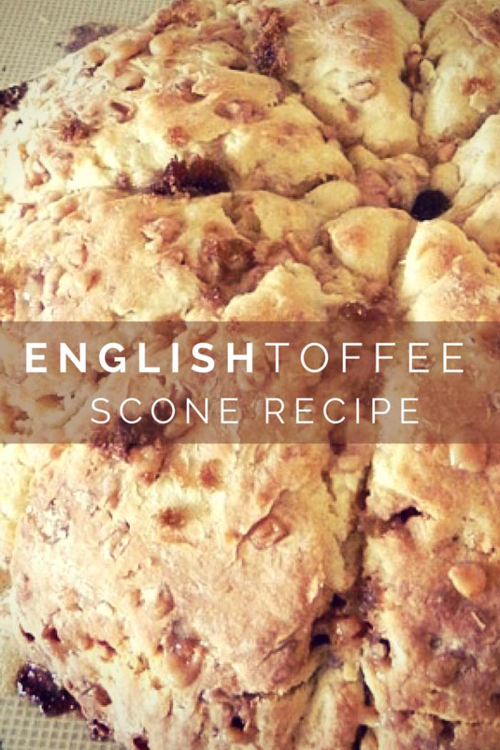 Tea Party–English Toffee Scones