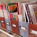 Simple Cooking Magazine Organization