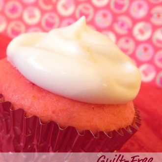 Guilt-Free Valentine's Cupcakes