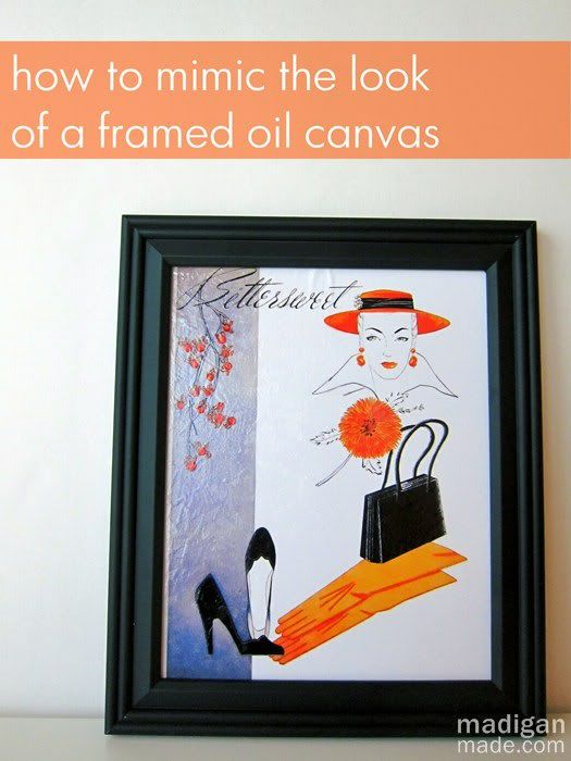 How to Mimic the Look of an Oil Canvas