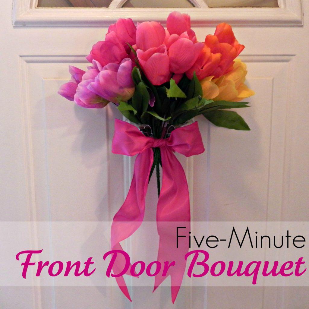 5-Minute Front Door Tulip Bouquet